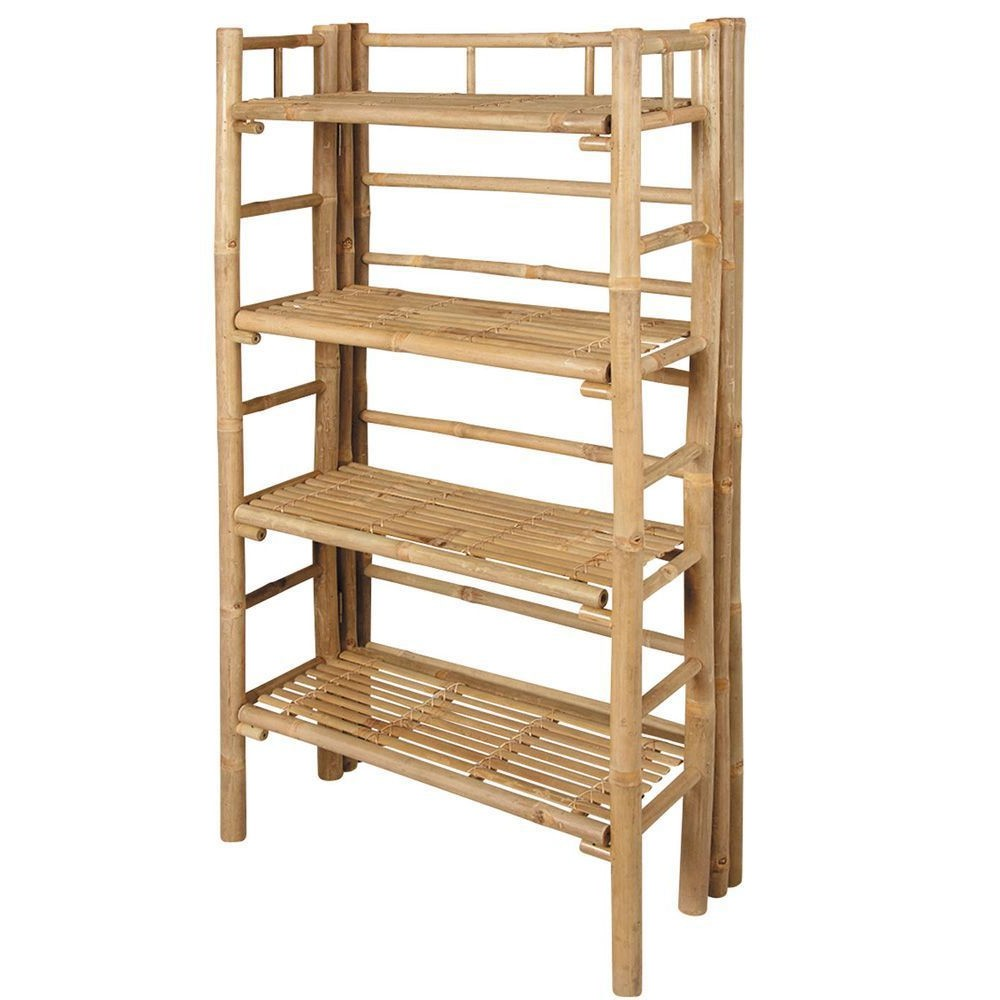 étagère Salle De Bain Bambou