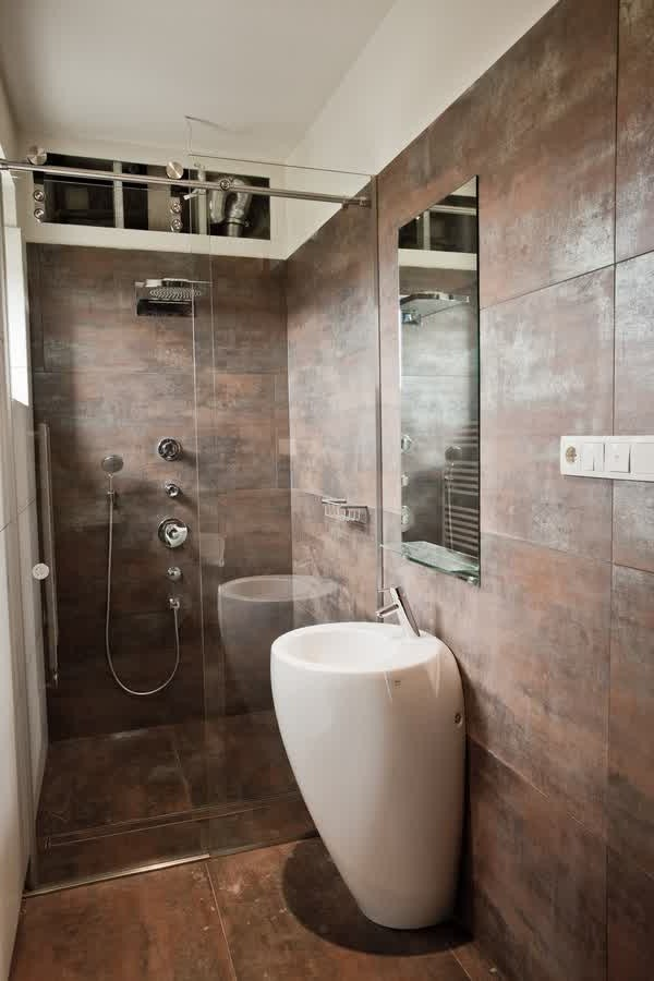 Amenager maison etroite for Salle de bain 7m2