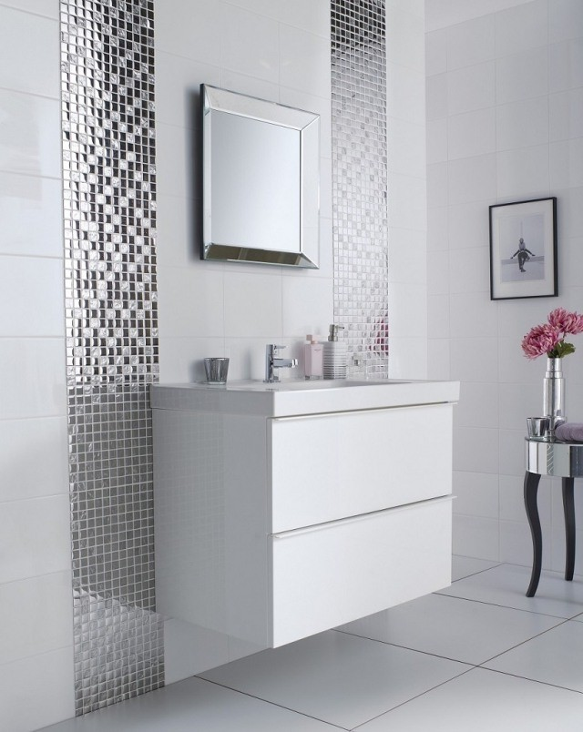 carrelage salle de bain mosaique salle de bain id es. Black Bedroom Furniture Sets. Home Design Ideas