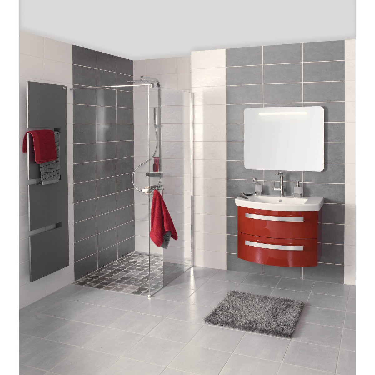Carrelage salle de bain point p salle de bain id es de for Photo carrelage salle de bain
