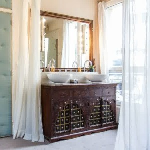 Meuble salle de bain original pas cher salle de bain - Tapis de salle de bain original ...