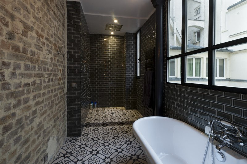 salle de bain douche italienne renovation douche italienne suite parentale ceramica with salle. Black Bedroom Furniture Sets. Home Design Ideas