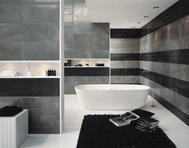 id es d co salle de bain grise salle de bain id es de. Black Bedroom Furniture Sets. Home Design Ideas
