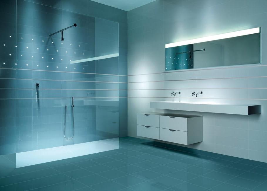 Id es d co salle de bain moderne salle de bain id es for Salle de bain moderne