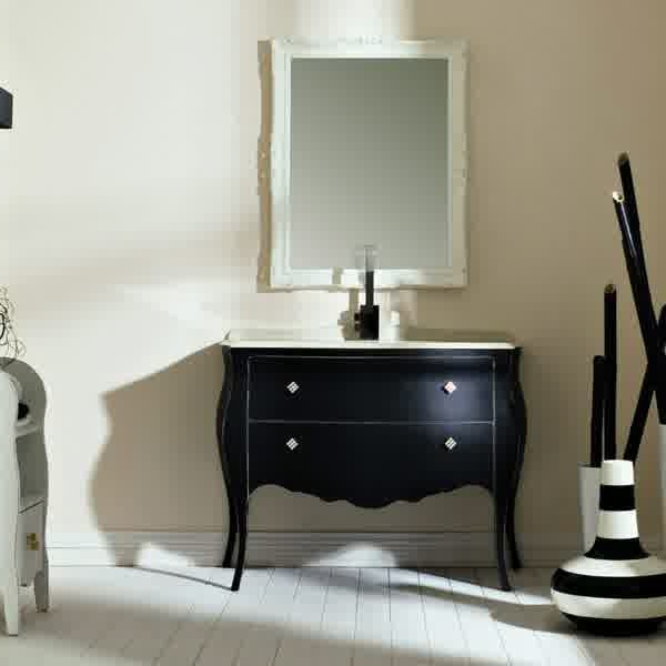 meuble lavabo salle de bain retro salle de bain id es. Black Bedroom Furniture Sets. Home Design Ideas