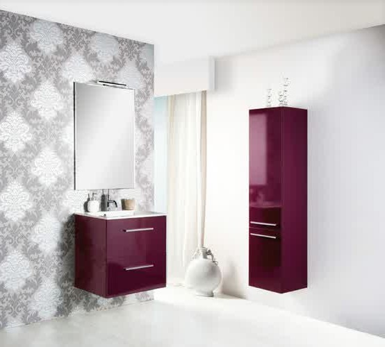 meuble salle de bain aubergine moins cher salle de bain id es de d coration de maison. Black Bedroom Furniture Sets. Home Design Ideas