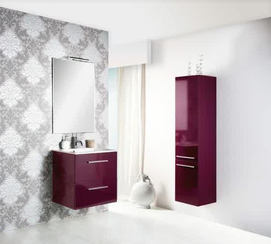 meuble salle de bain aubergine moins cher salle de bain. Black Bedroom Furniture Sets. Home Design Ideas