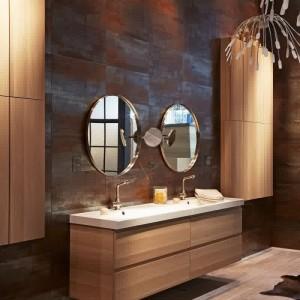 Meuble salle de bain retro chic salle de bain id es de for Meuble salle de bain retro
