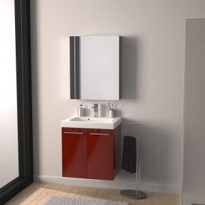 Meuble salle de bain faible profondeur lapeyre salle de - Meuble salle de bain profondeur 40 cm ...