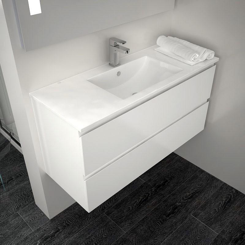 meuble salle de bain petite profondeur salle de bain. Black Bedroom Furniture Sets. Home Design Ideas
