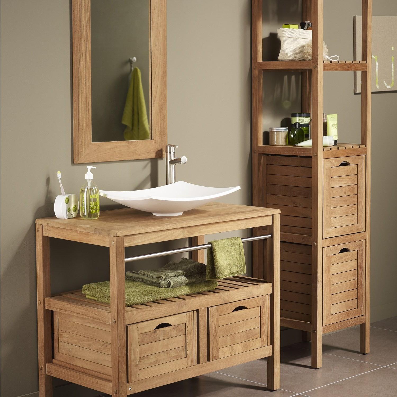 meuble salle de bain pour vasque poser pas cher salle. Black Bedroom Furniture Sets. Home Design Ideas