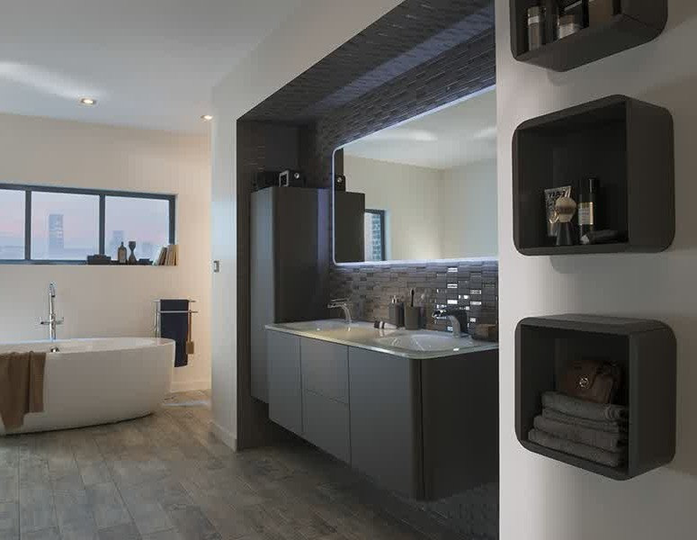 meuble lavabo salle de bain castorama maison design. Black Bedroom Furniture Sets. Home Design Ideas