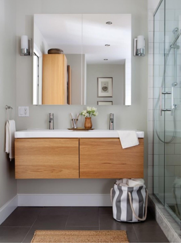 Meuble salle de bain sans vasque ikea salle de bain for Meuble vasque salle de bain