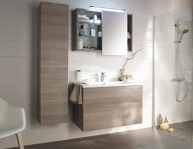 Meuble salle de bain sur pied 1 vasque salle de bain for Meuble salle de bain 1 vasque sur pied