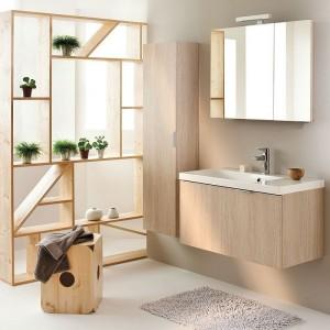 Meuble salle de bain sur pied 1 vasque salle de bain for Ikea meuble salle bain