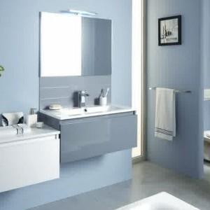 Meuble salle de bain aubergine brico depot salle de bain - Meuble evier brico depot ...