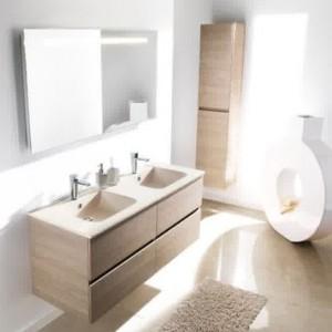 Am nager une salle de bain au sous sol salle de bain for Meuble de salle de bain fly