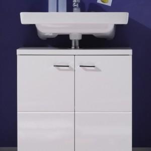 Meuble sous evier salle de bain bois salle de bain for Sous evier salle de bain