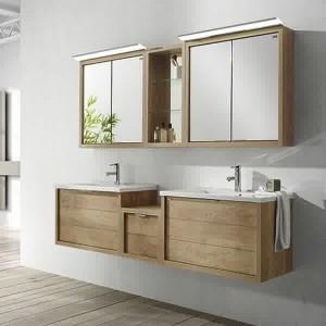 Meuble salle de bain bois retro salle de bain id es de - Meuble vasque retro ...
