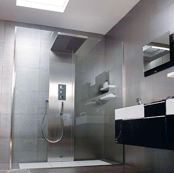 Exemple Salle De Bain Douche Italienne Chaioscom - Model salle de bain a l italienne