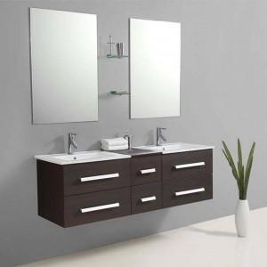 Meubles salle de bain bois massif pas cher salle de bain for Meubles de salle de bain soldes
