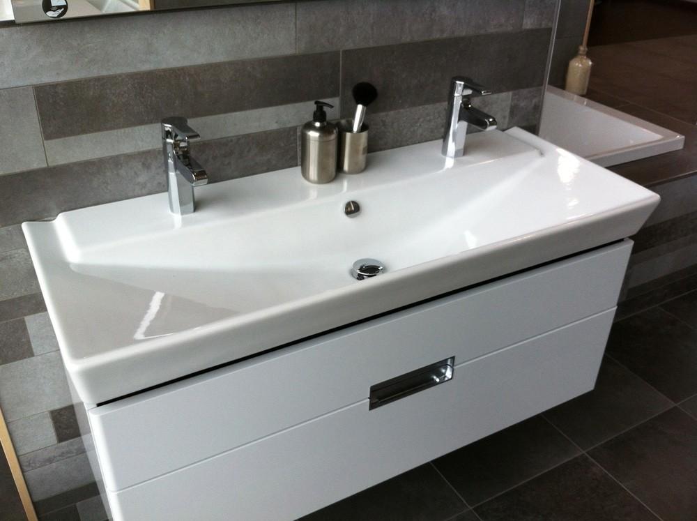 Meuble salle de bain double vasque ikea salle de bain for Ikea salle de bain