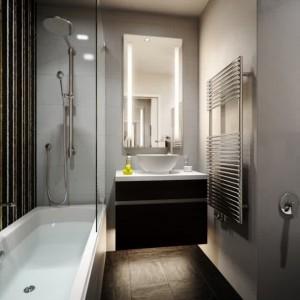 Amenagement salle de bain petit espace avec baignoire for Amenagement petite salle de bain baignoire
