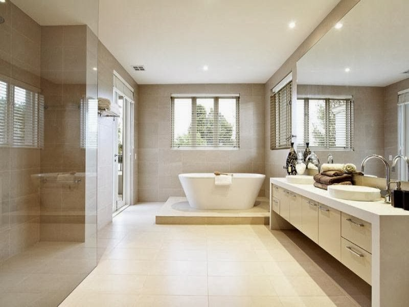 Carrelage mosaique salle de bain point p for Great small bathroom designs