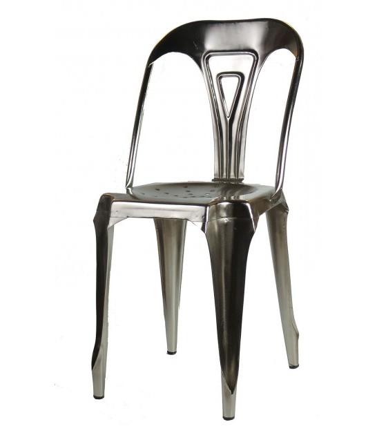 Chaise Bistrot Metallique