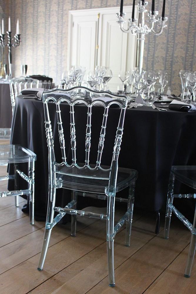 Chaise Napoleon 3 Cristal