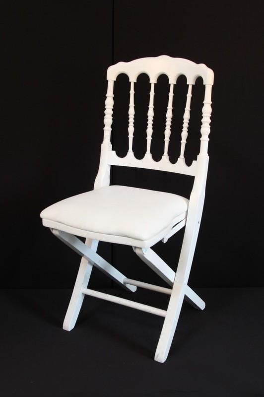 Chaise Napoleon 3 Pliante