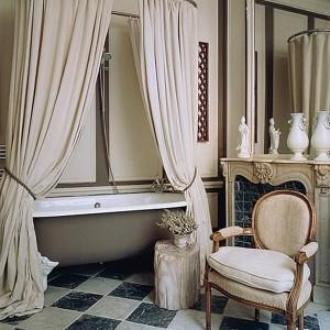 Decoration salle bains retro blanc salle de bain id es de d coration de maison kp7nl65dx1 - Deco salle de bain vintage ...