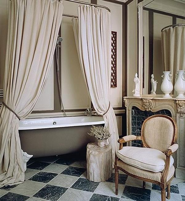 Decoration Salle De Bain Retro