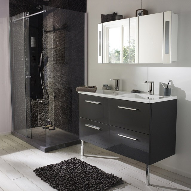 meuble lavabo castorama maison design. Black Bedroom Furniture Sets. Home Design Ideas