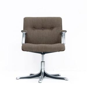 fauteuil de bureau sans roulettes but chaise id es de d coration de maiso. Black Bedroom Furniture Sets. Home Design Ideas