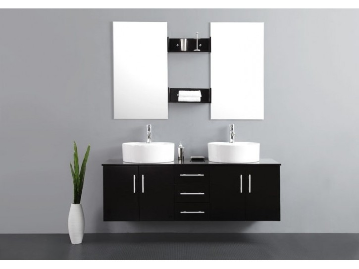 hauteur meuble salle de bain vasque poser salle de. Black Bedroom Furniture Sets. Home Design Ideas