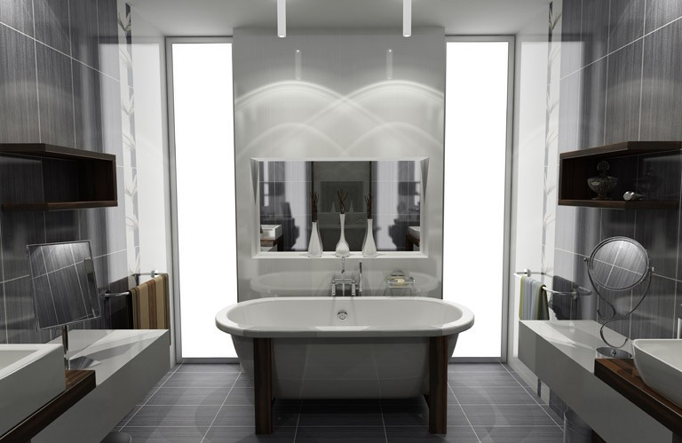 Idee deco salle de bains salle de bain id es de d coration de maison mgv - Idee deco salle de bain ...