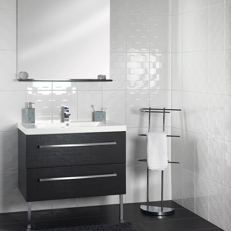 meuble salle de bain brico depot lavabo double vasque. Black Bedroom Furniture Sets. Home Design Ideas