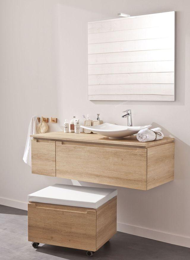 Meuble de rangement salle de bain leroy merlin salle de for Idee deco salle de bain leroy merlin