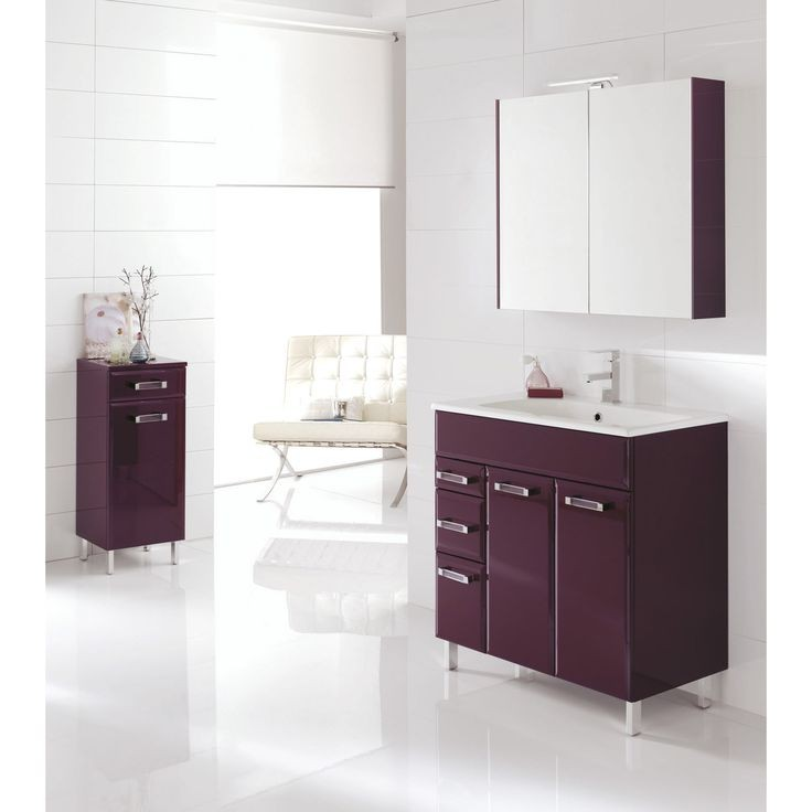 meuble de salle de bain chez leroy merlin salle de bain. Black Bedroom Furniture Sets. Home Design Ideas