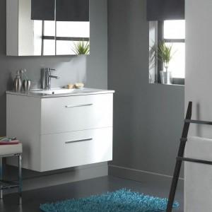 Meuble salle de bain pas cher but salle de bain id es - Meuble salle de bain gris pas cher ...