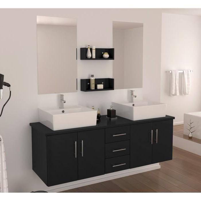 Meuble salle de bain 2 vasques ikea salle de bain for Decoration salle de bain ikea