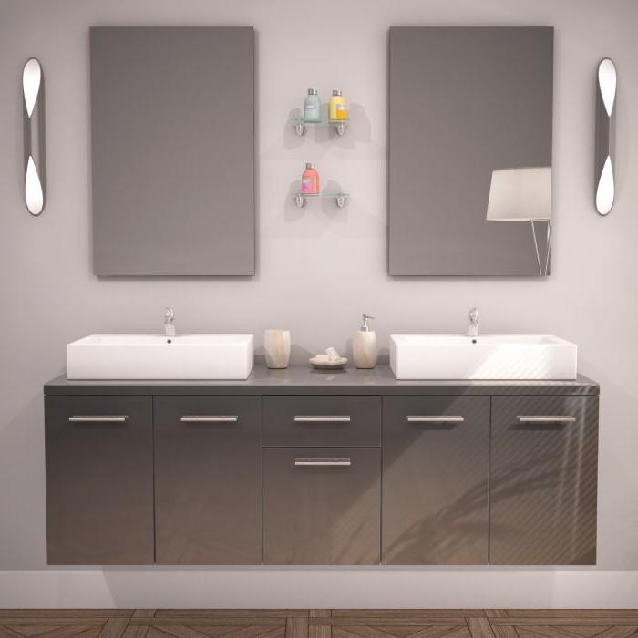 Meuble Salle De Bain Double Vasques