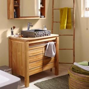 Parquet teck salle de bain leroy merlin salle de bain for Meuble salle de bain teck leroy merlin