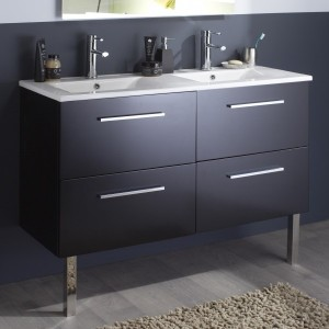 Hauteur meuble de salle de bain avec vasque salle de - Meuble salle de bain avec vasque pas cher ...