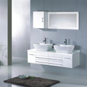 Ensemble meuble vasque salle bain pas cher salle de bain for Ensemble meuble salle de bain double vasque pas cher