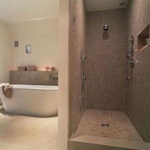 Modele salle de bains avec douche italienne salle de for Idee deco salle de bain douche italienne