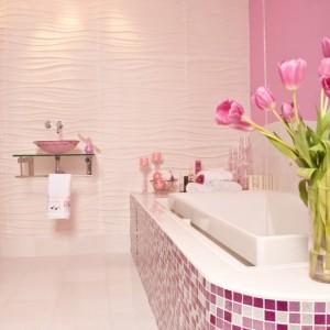 Mosaique salle de bain italienne salle de bain id es for Mosaique salle de bain rose