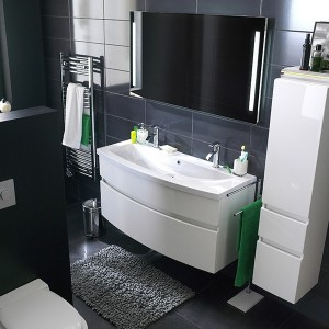 simple elegant norme hauteur meuble de salle de bain with fixation meuble salle de bain suspendu. Black Bedroom Furniture Sets. Home Design Ideas