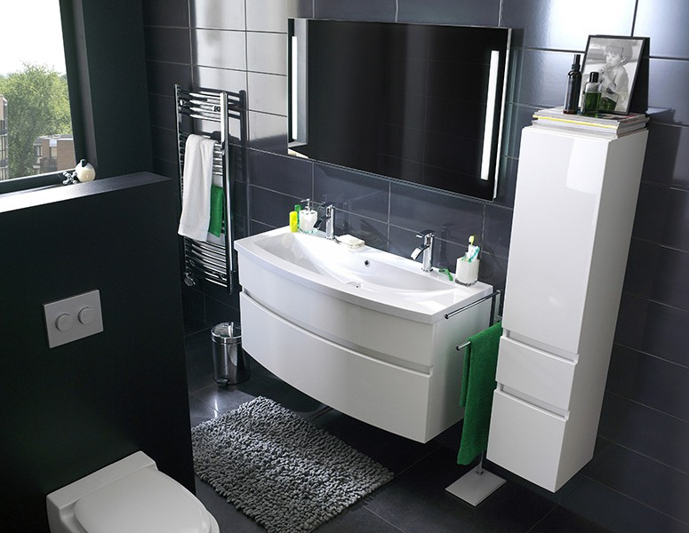awesome hauteur meuble salle de bain norme images. Black Bedroom Furniture Sets. Home Design Ideas